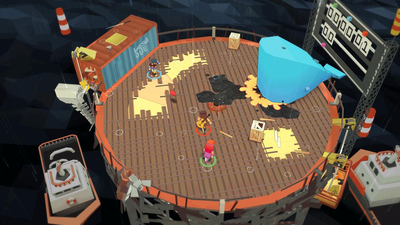 Stikbold! A Dodgeball Adventure Review Screenshot 2