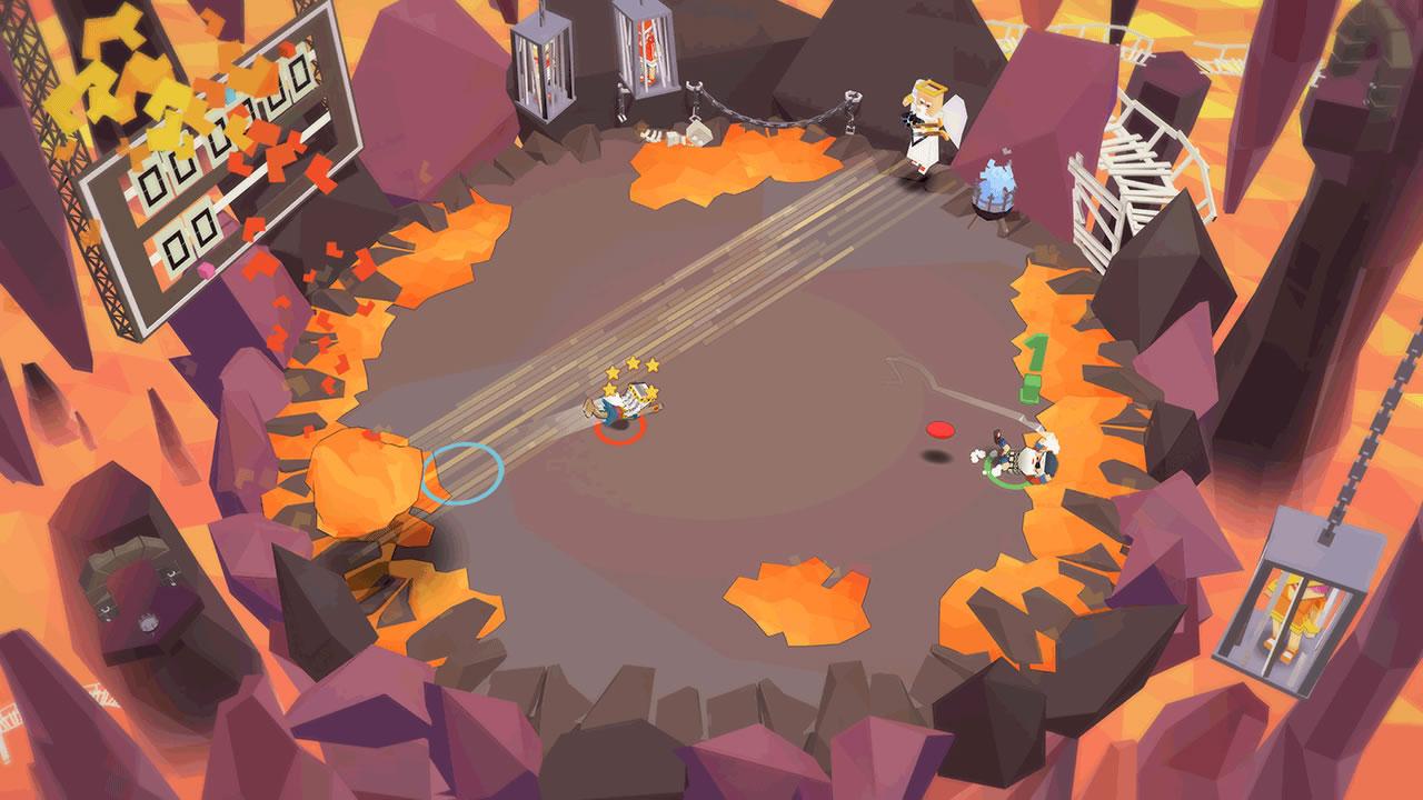 Stikbold! A Dodgeball Adventure Review Screenshot 3