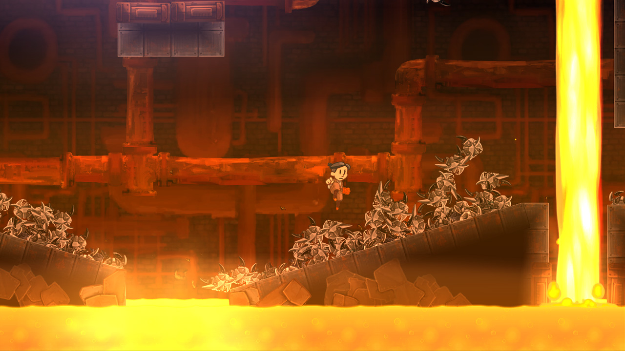 Teslagrad PS Vita Review Screenshot 1