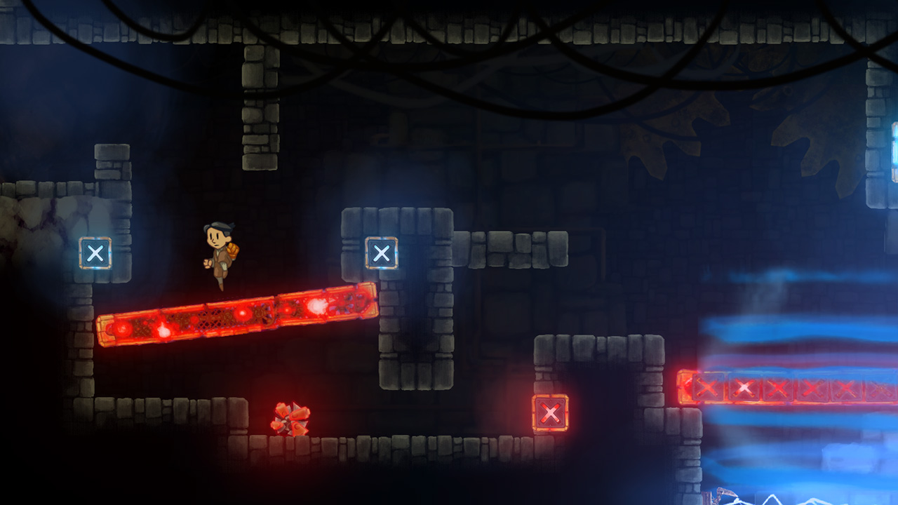 Teslagrad PS Vita Review Screenshot 2
