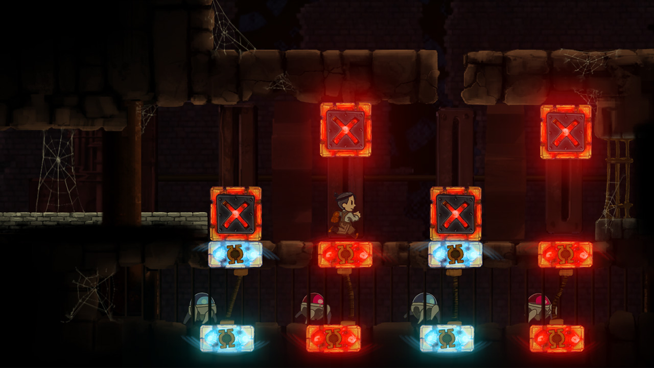 Teslagrad PS Vita Review Screenshot 3