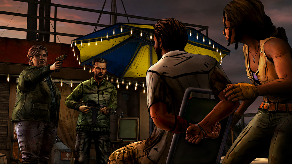 The Walking Dead- Michonne Episode 2 Give No Shelter Review Screenshot 2