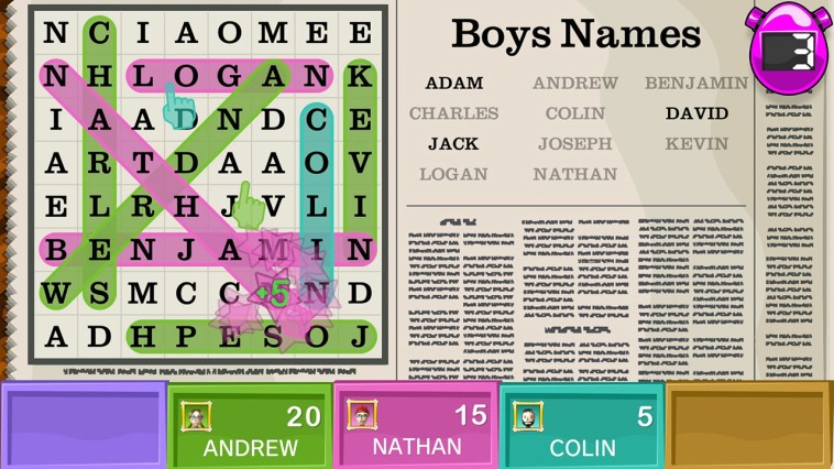 Word Party Review Screenshot 2