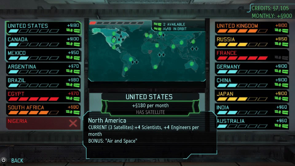 XCOM Enemy Unknown PS Vita Review Situation Room Screenshot