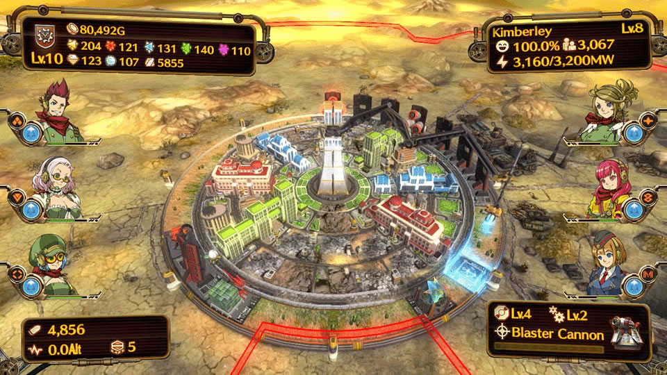Aegis of Earth Protonovus Assault Review Screenshot 1