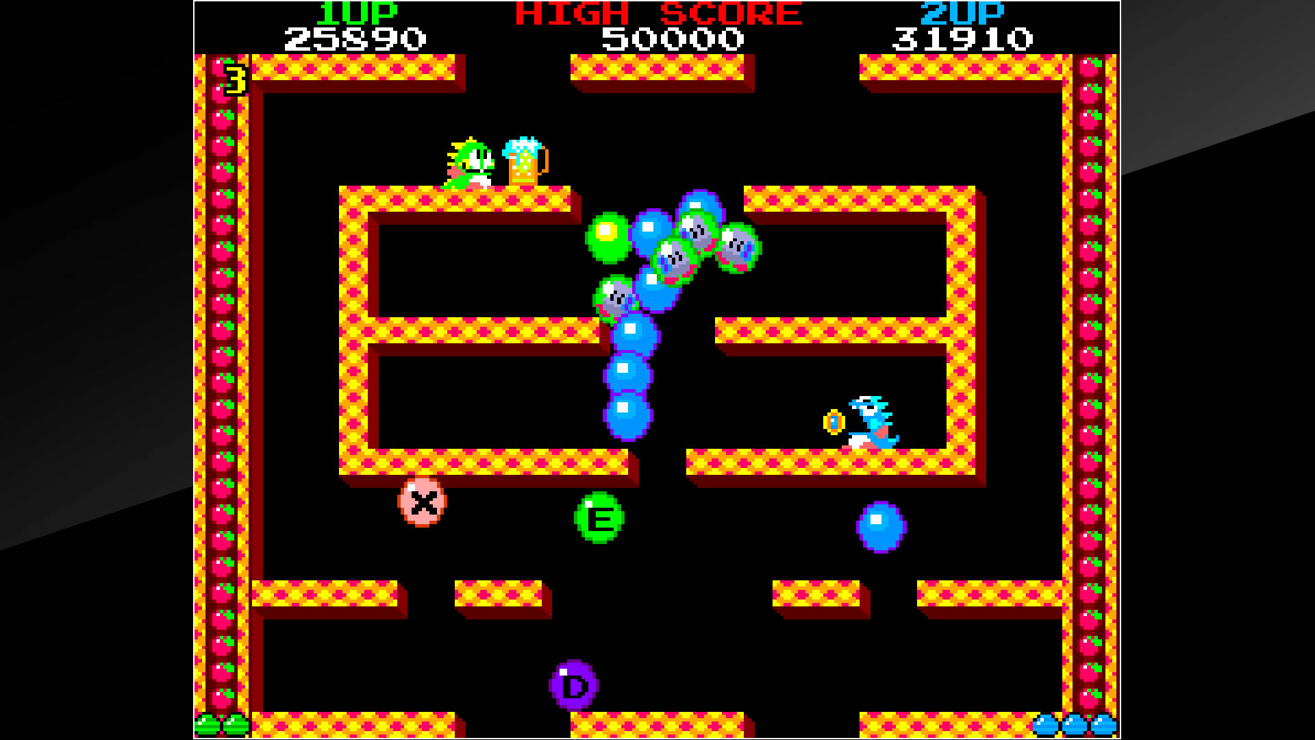 Arcade Archives BUBBLE BOBBLE PS4 Review Screenshot 1