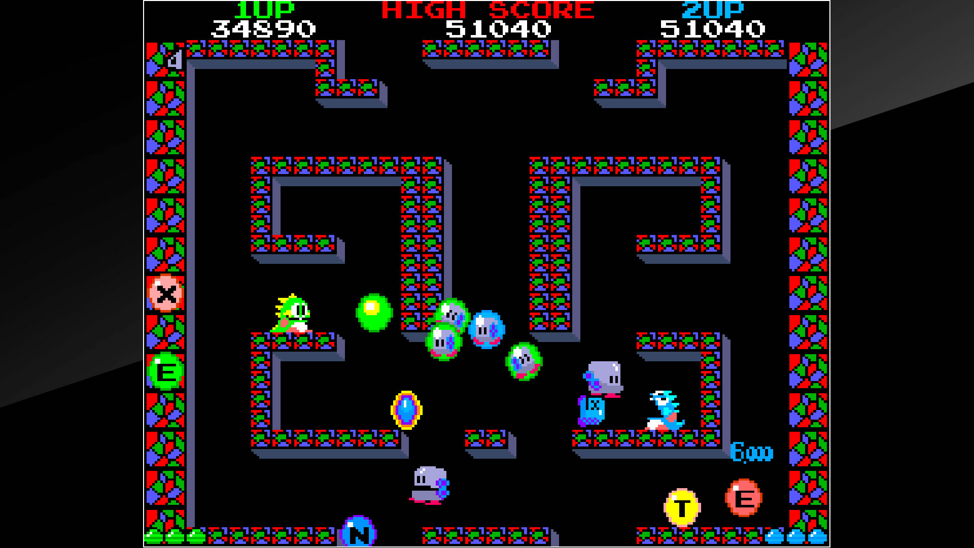 Arcade Archives BUBBLE BOBBLE PS4 Review Screenshot 2