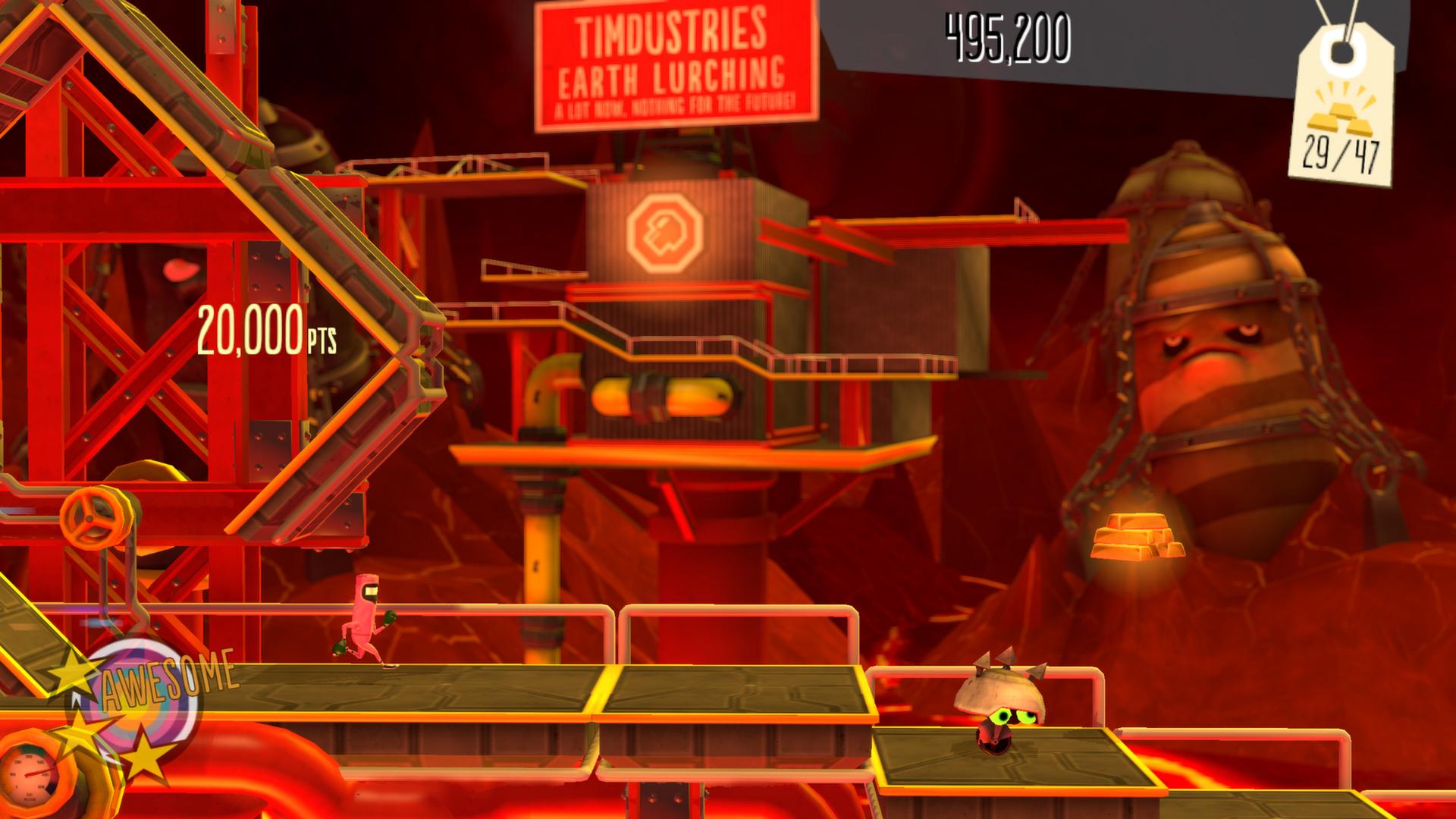BIT TRIP Presents Runner2 Future Legend of Rhythm Alien Review Screenshot 1