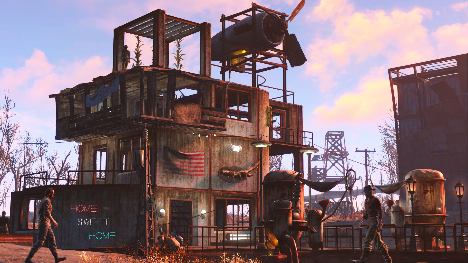 Fallout 4 Wasteland Workshop Review Screenshot 3