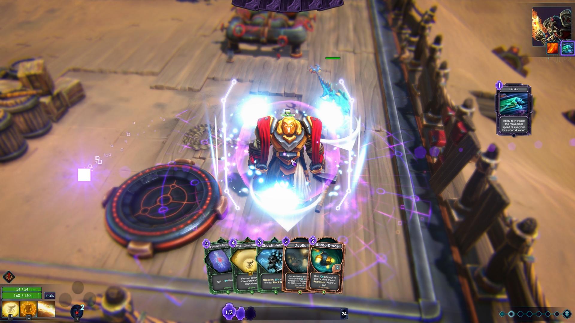 Forced Showdown Review Screenshot 1
