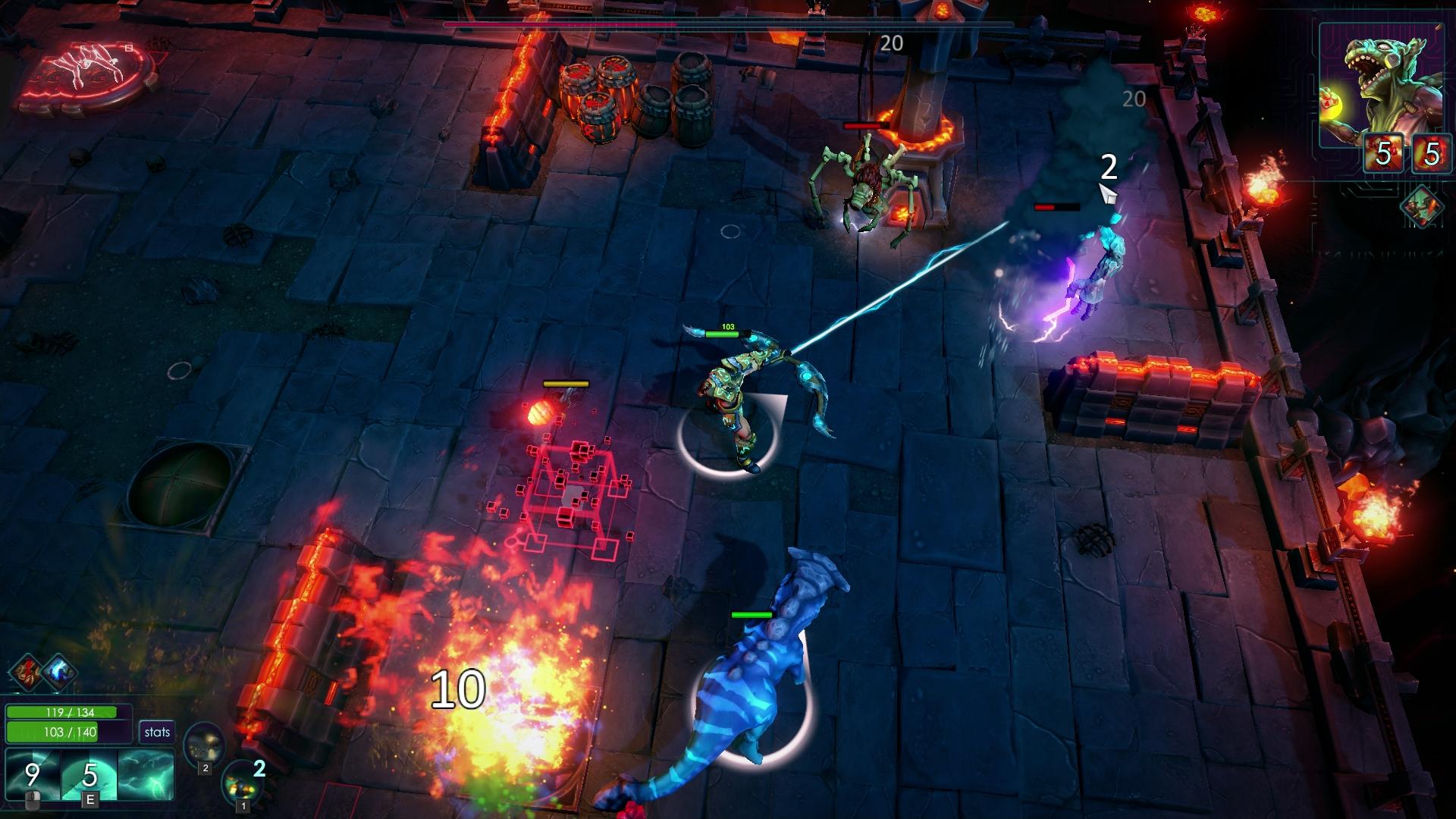 Forced Showdown Review Screenshot 3