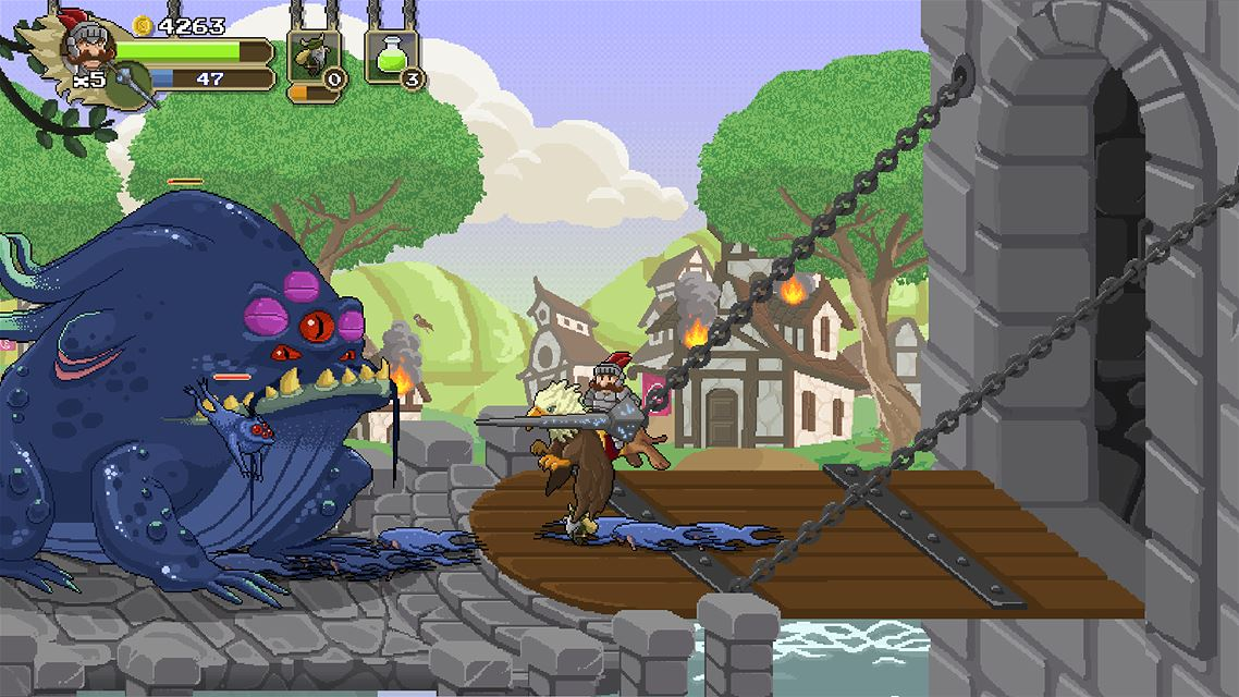 Gryphon Knight Epic Xbox One Review Screenshot 1