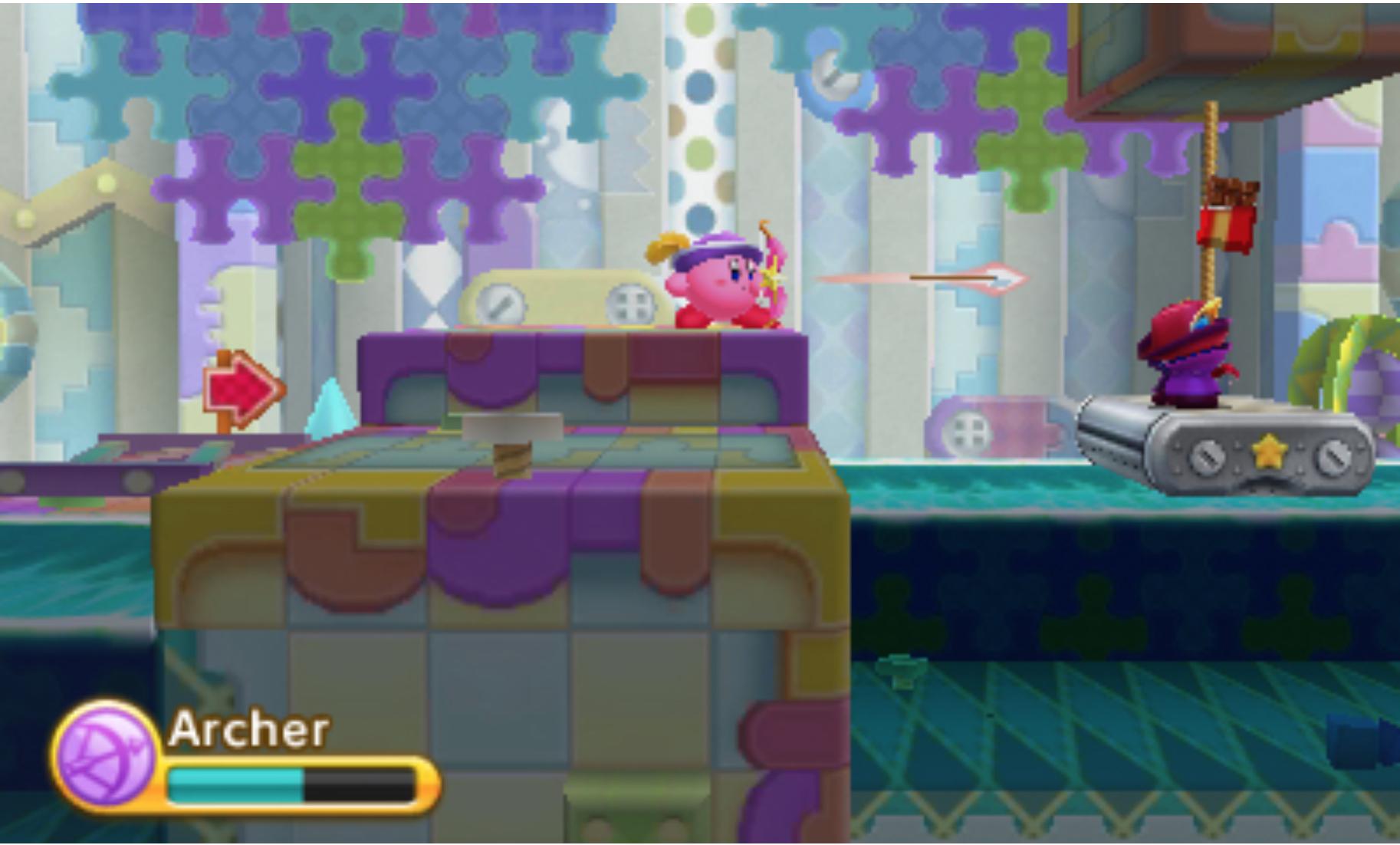Kirby Triple Deluxe Screenshot 1