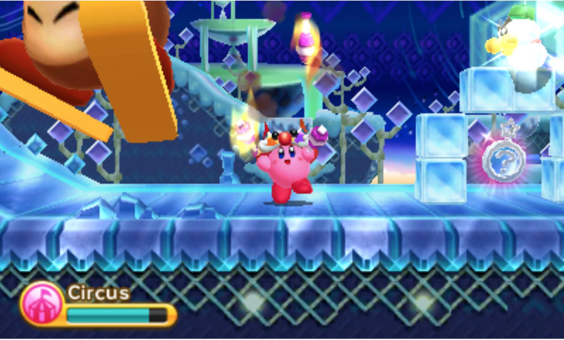 Kirby Triple Deluxe Screenshot 2