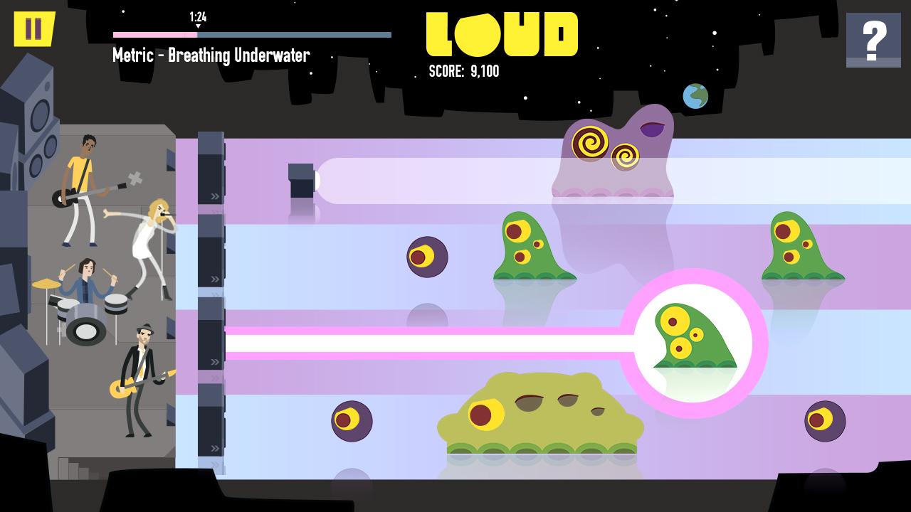 LOUD on Planet X Review Screenshot 1