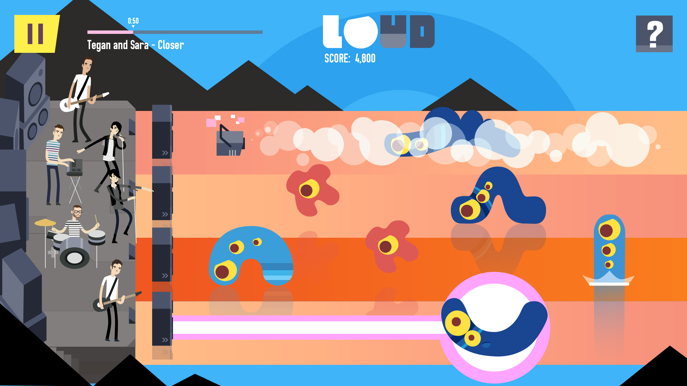 LOUD on Planet X Review Screenshot 2