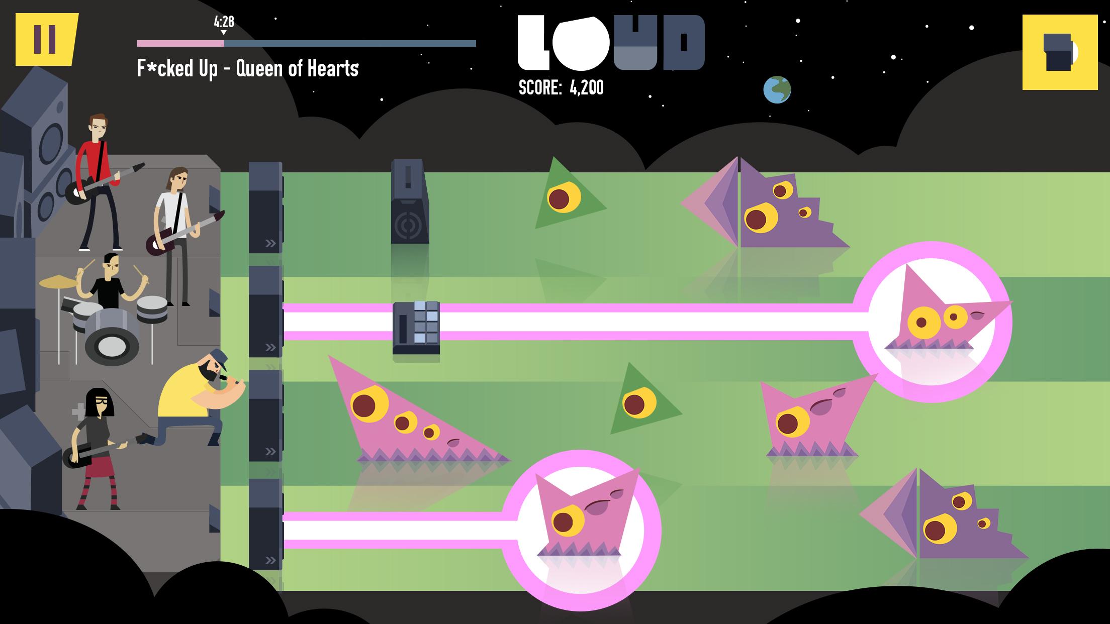 LOUD on Planet X Review Screenshot 3
