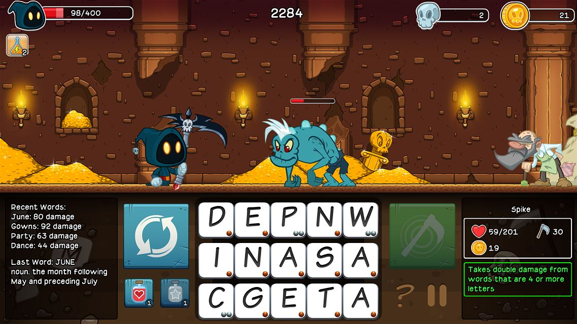 Letter Quest Grimm's Journey Remastered Review Screenshot 1