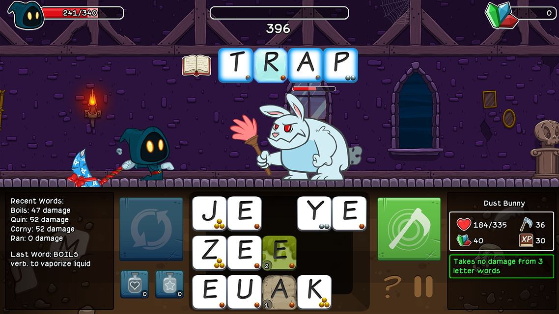 Letter Quest Grimm's Journey Remastered Review Screenshot 2