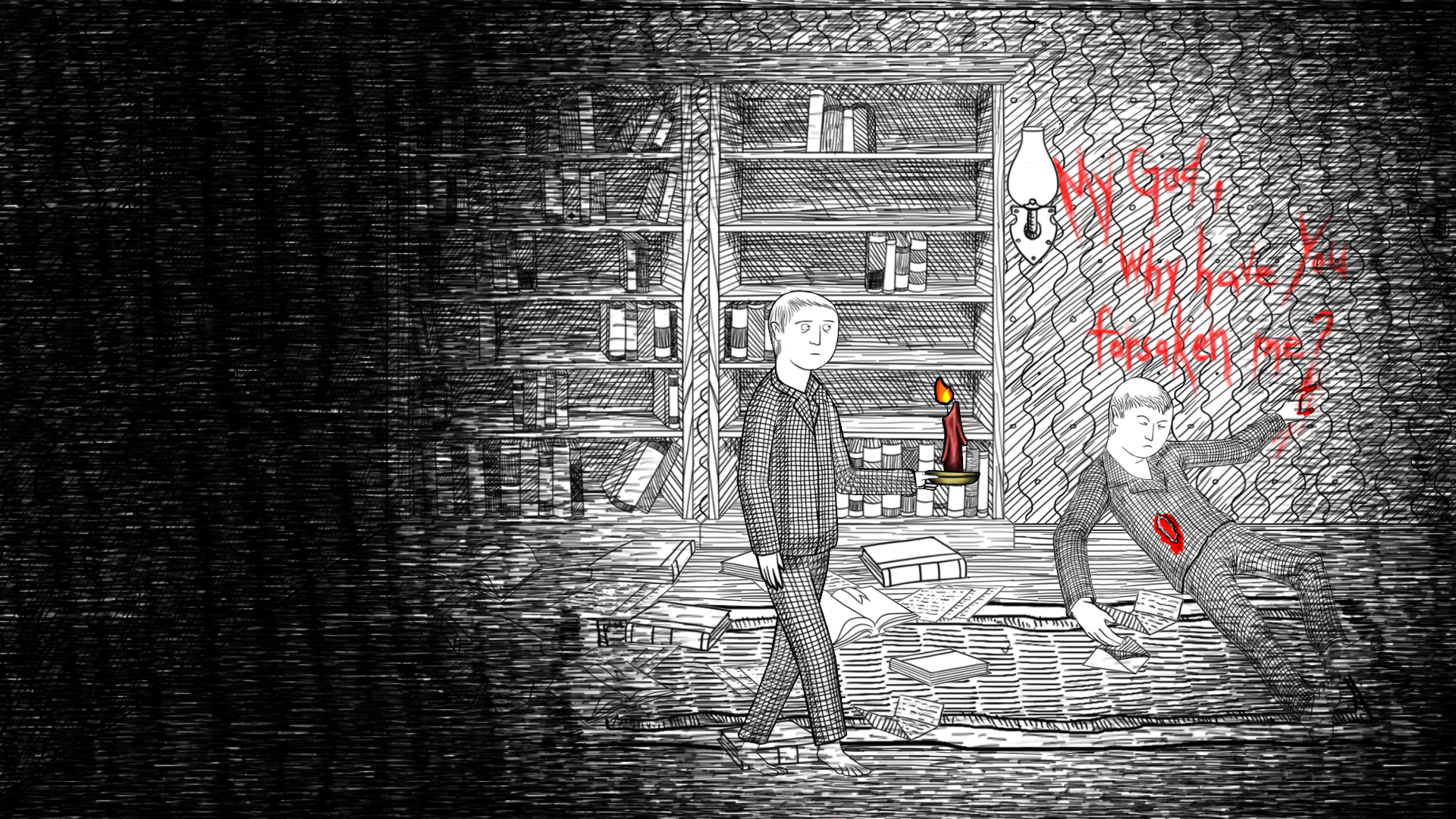 Neverending Nightmares Review Screenshot 1