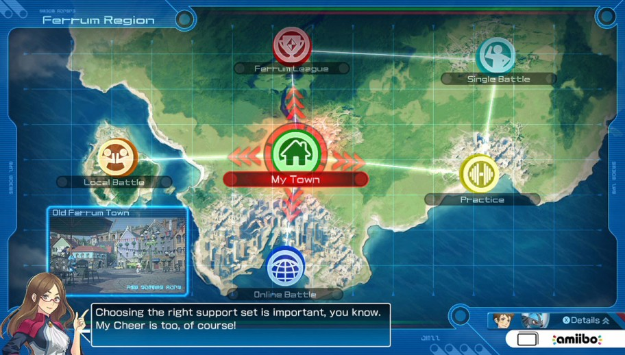 Pokken Tournament Options Screenshot