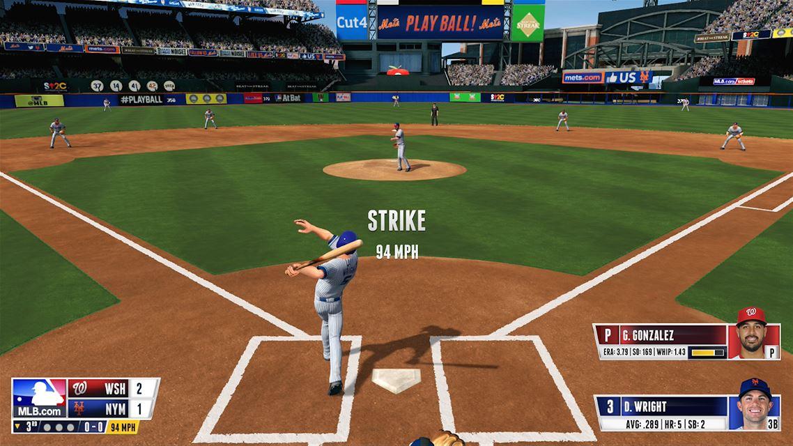 R.B.I. Baseball 16 Xbox One Review Screenshot 1