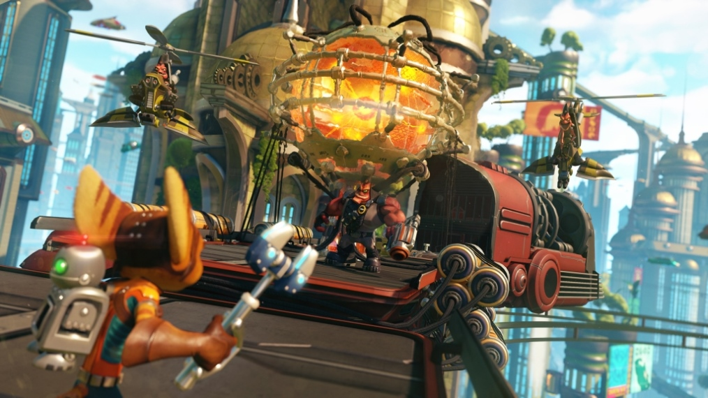 Ratchet & Clank Review Screenshot 2