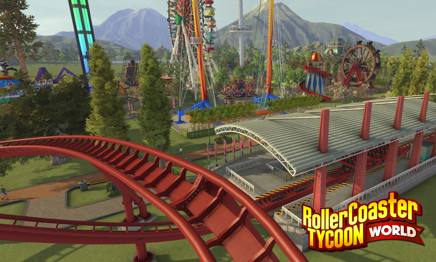 RollerCoaster Tycoon World Review Screenshot 2