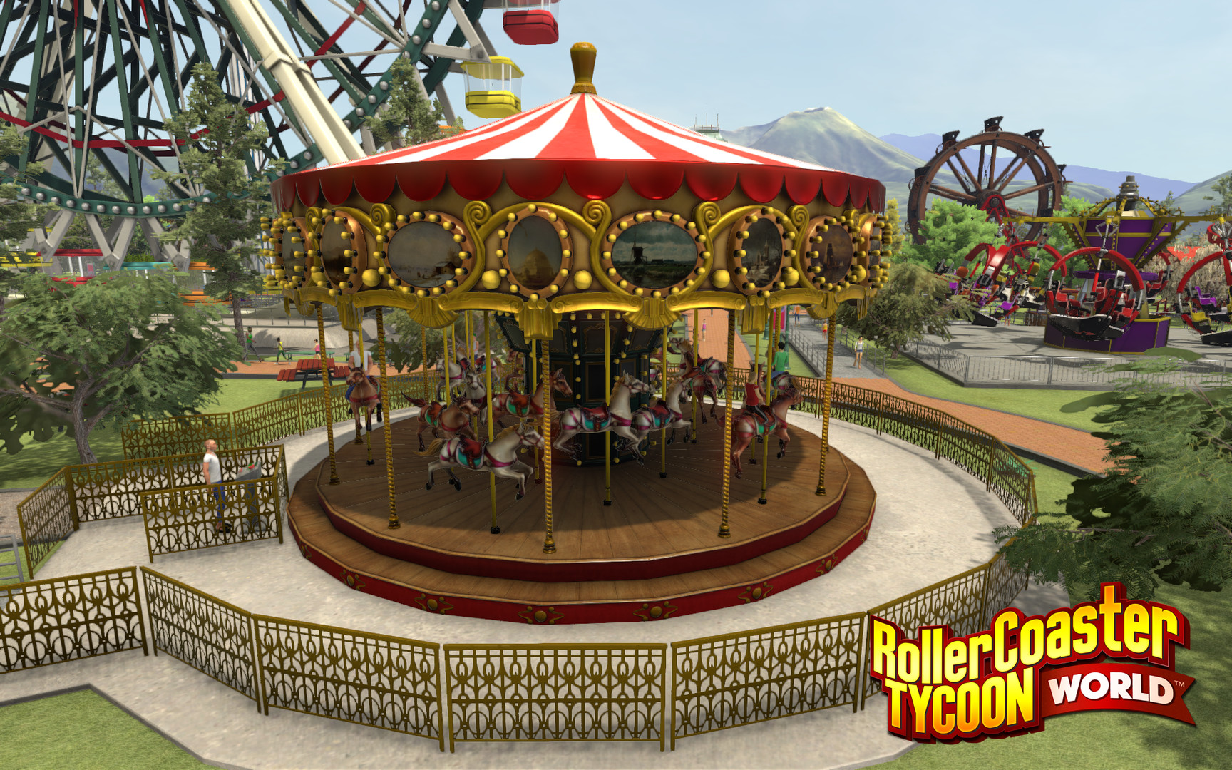 RollerCoaster Tycoon World Review Screenshot 3