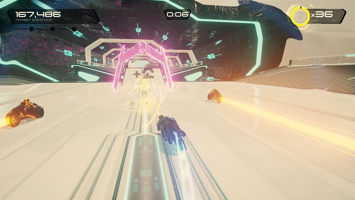 TRON RUN:r Xbox One Review Screenshot 1