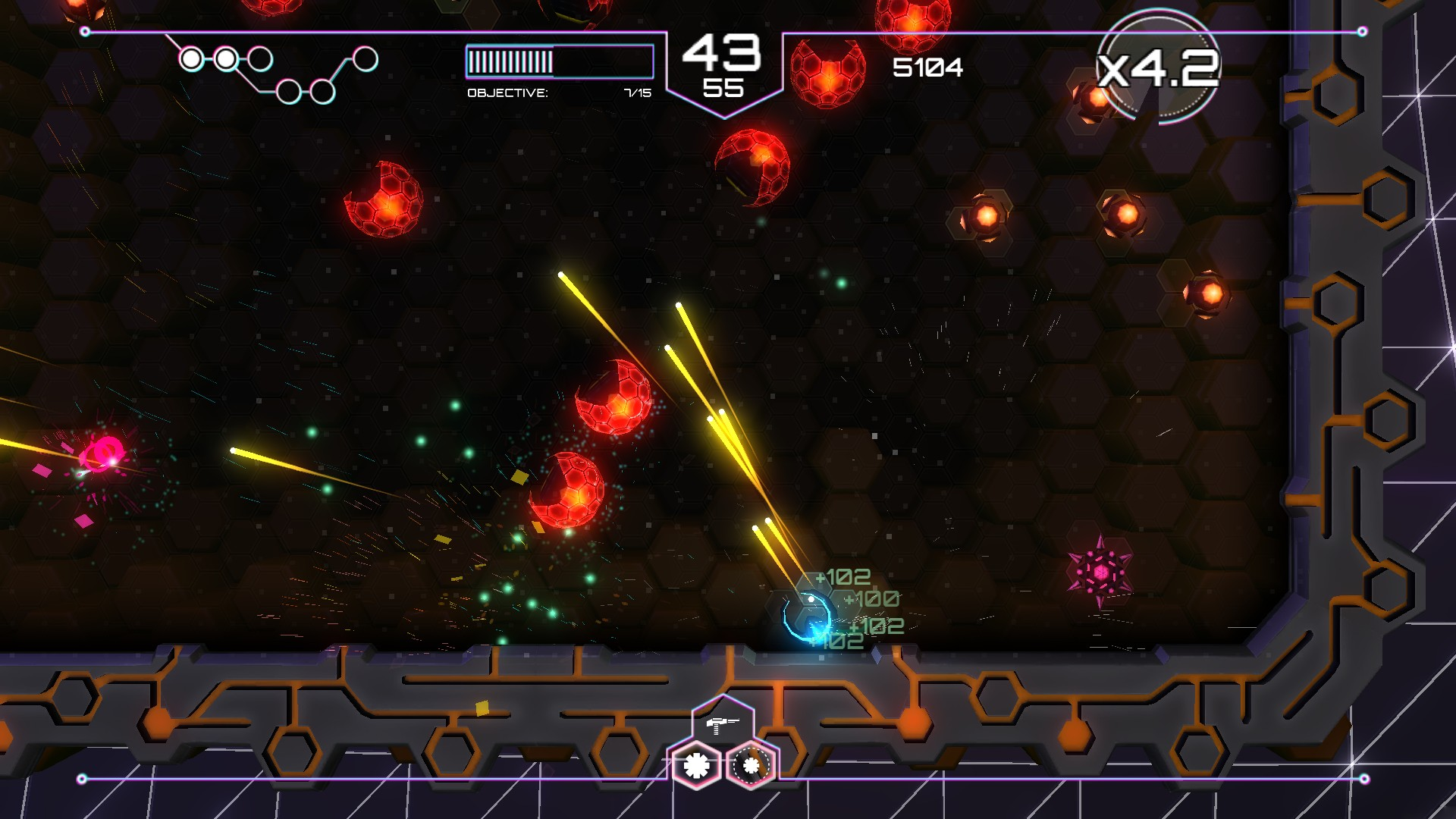 Tachyon Project PS Vita Review Screenshot 1