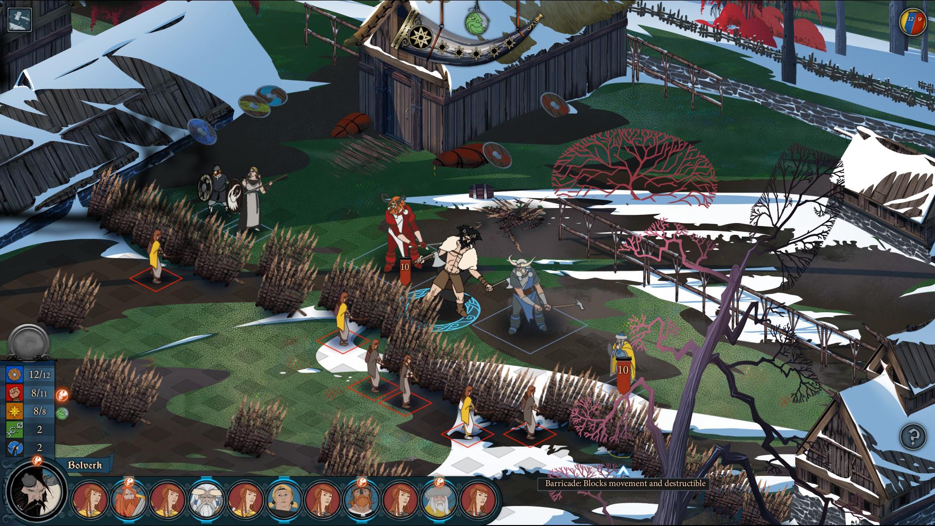 The Banner Saga 2 Review Screenshot 3