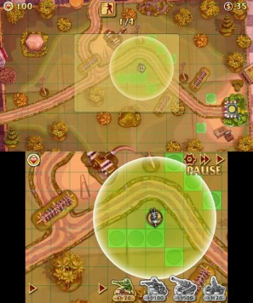Toy Defence 3DS Review Screenshot 2