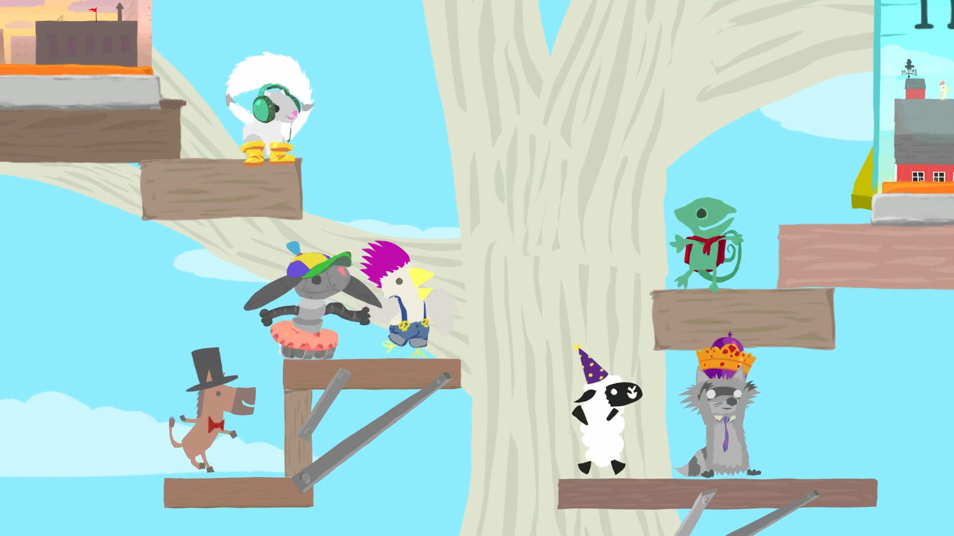 Ultimate Chicken Horse Review Screenshot 2