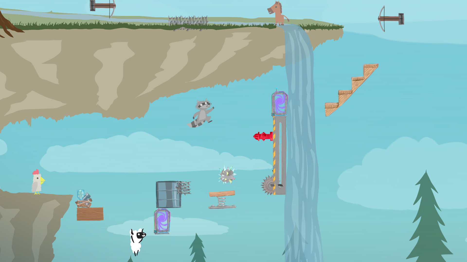 Ultimate Chicken Horse Review Screenshot 3
