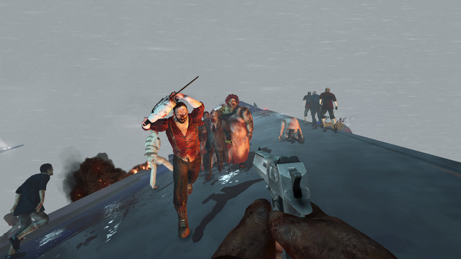 Zombies on a Plane Review Screenshot 2