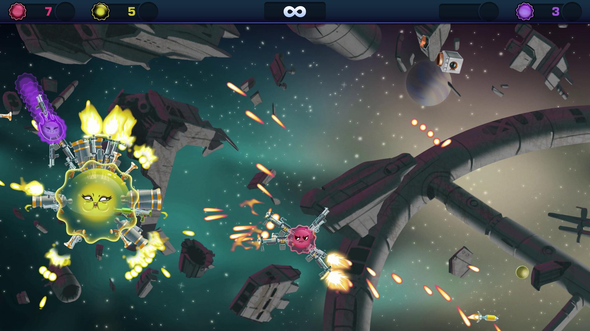 Armed and Gelatinous Review Screenshot 3