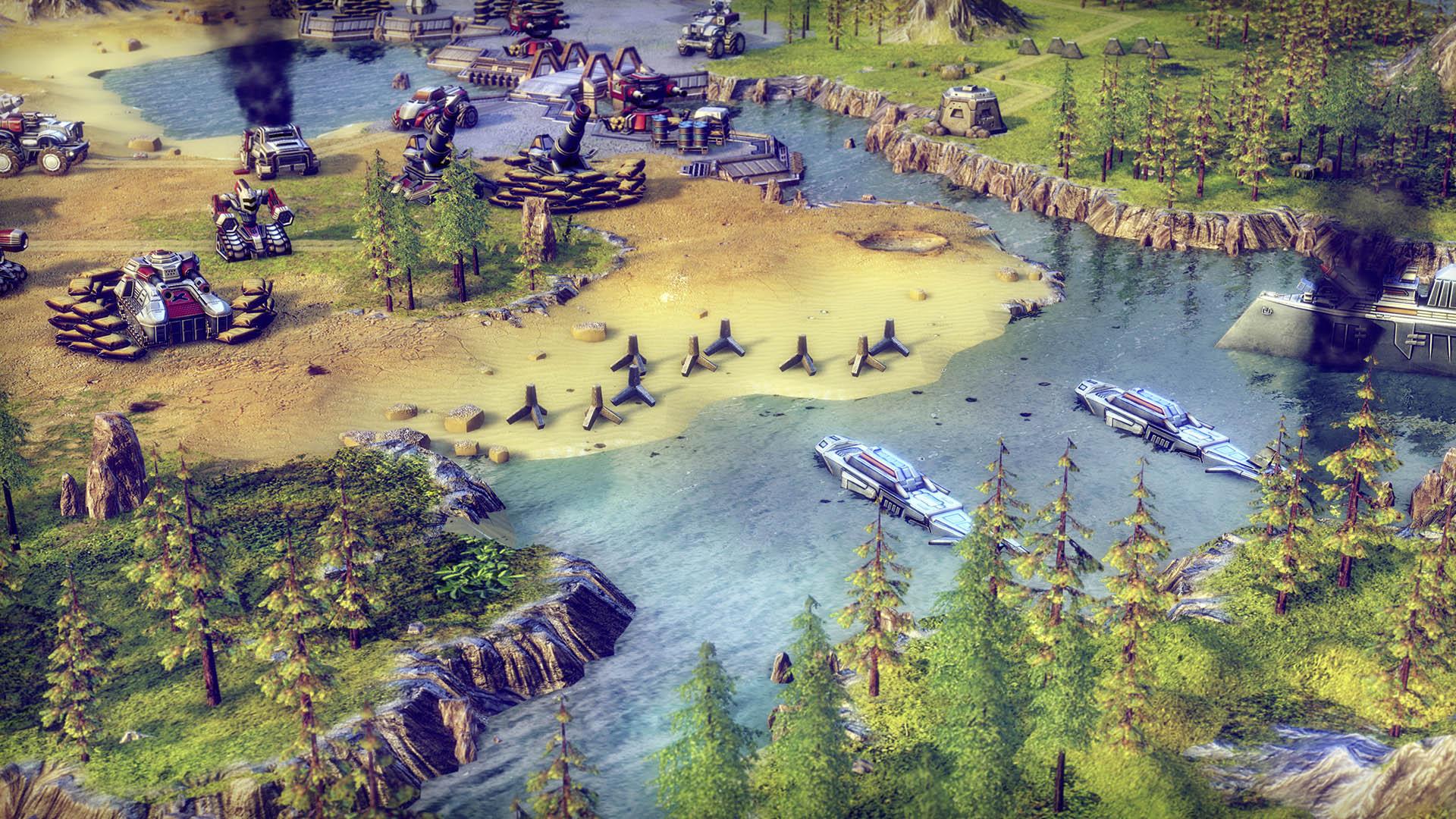 Battle Worlds Kronos Review Screenshot 1