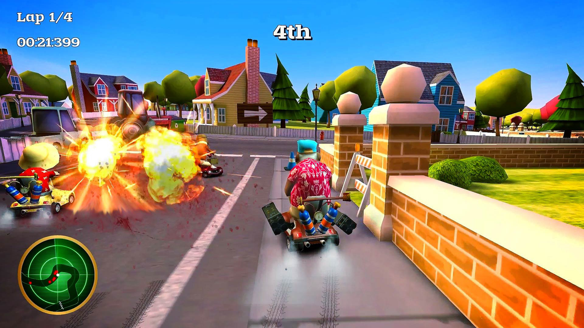 Coffin Dodgers Review Screenshot 1