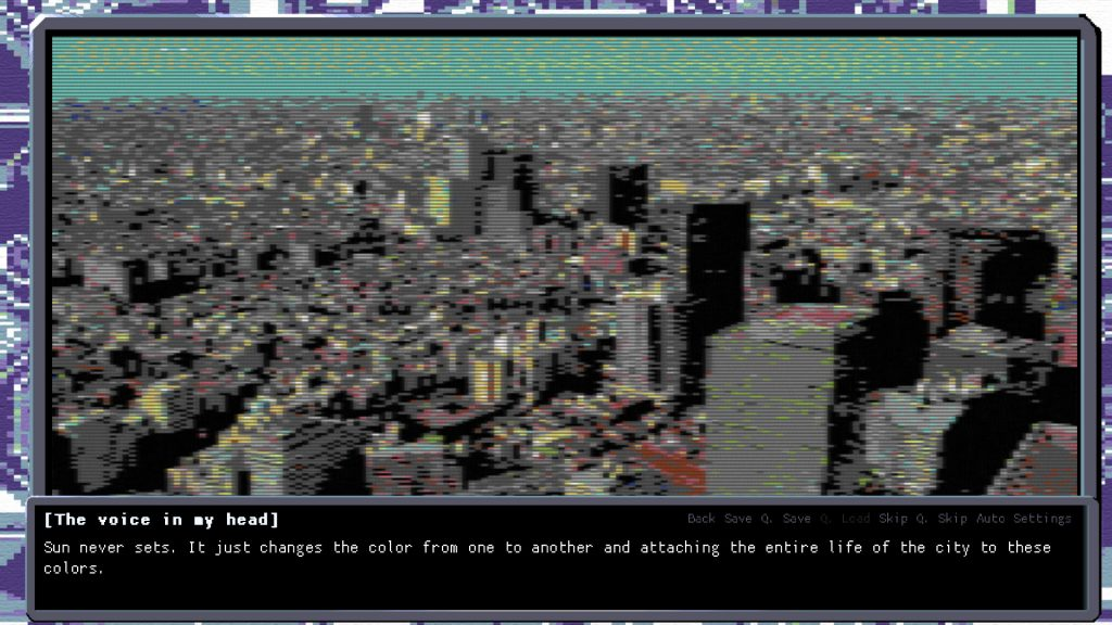Cyber City 2157 The Visual Novel Review Screenshot 2