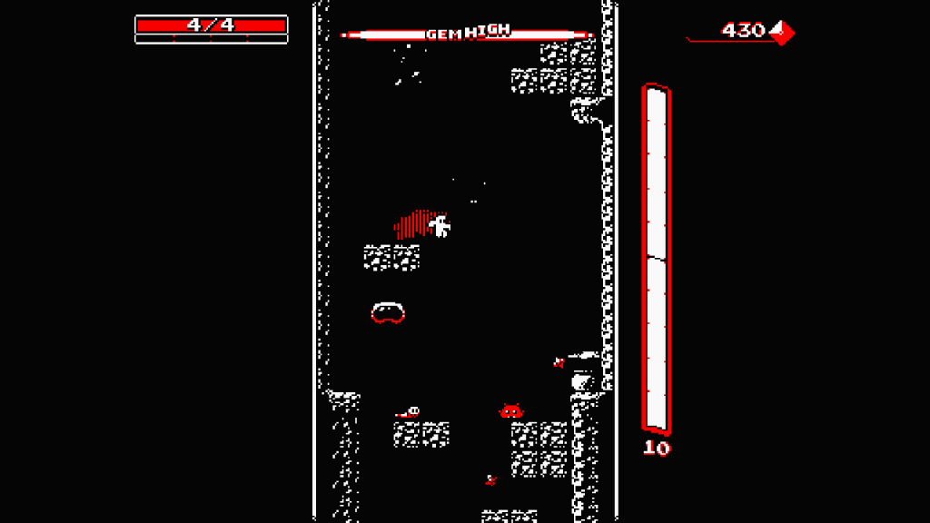 Downwell Review Screenshot 1