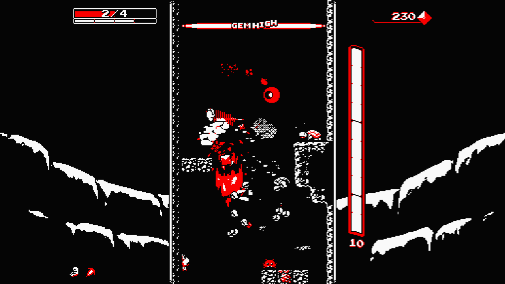 Downwell Review Screenshot 2
