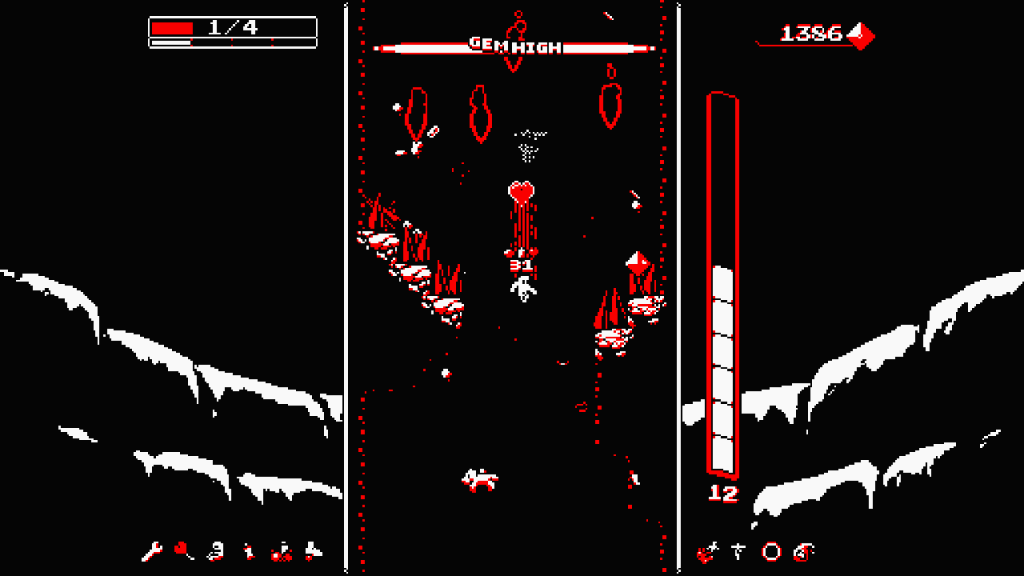 Downwell Review Screenshot 3