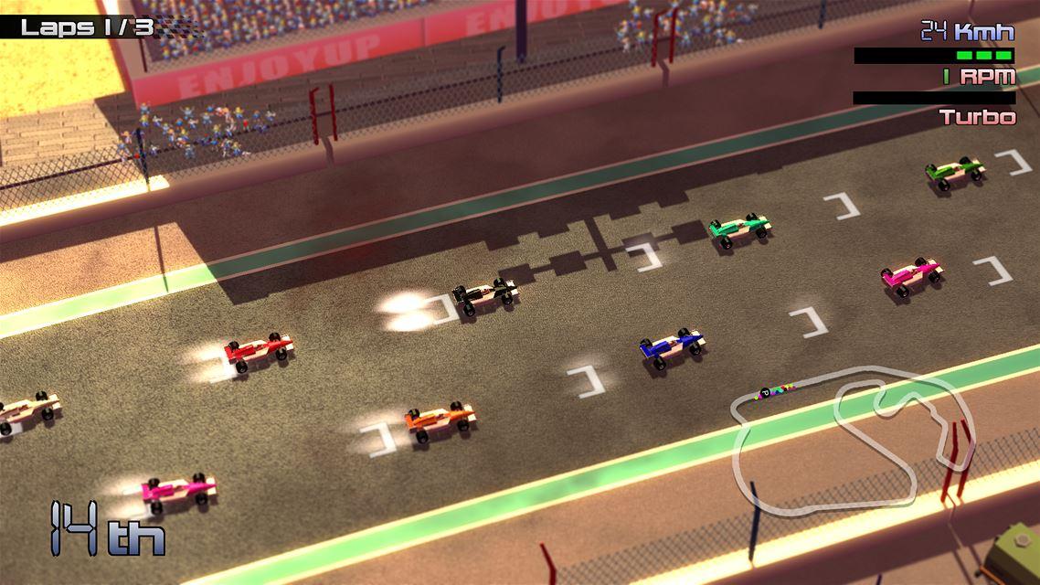 Grand Prix Rock 'N Racing Review Screenshot 1