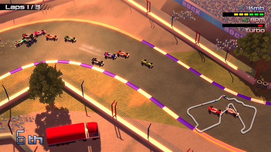 Grand Prix Rock 'N Racing Review Screenshot 2