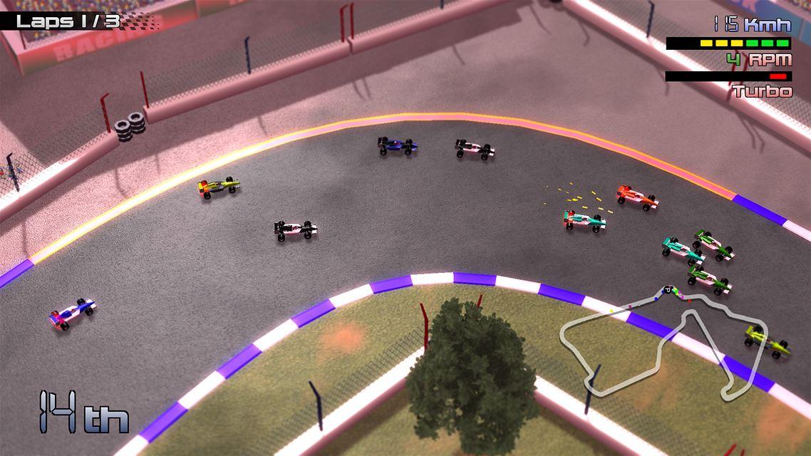 Grand Prix Rock 'N Racing Review Screenshot 3