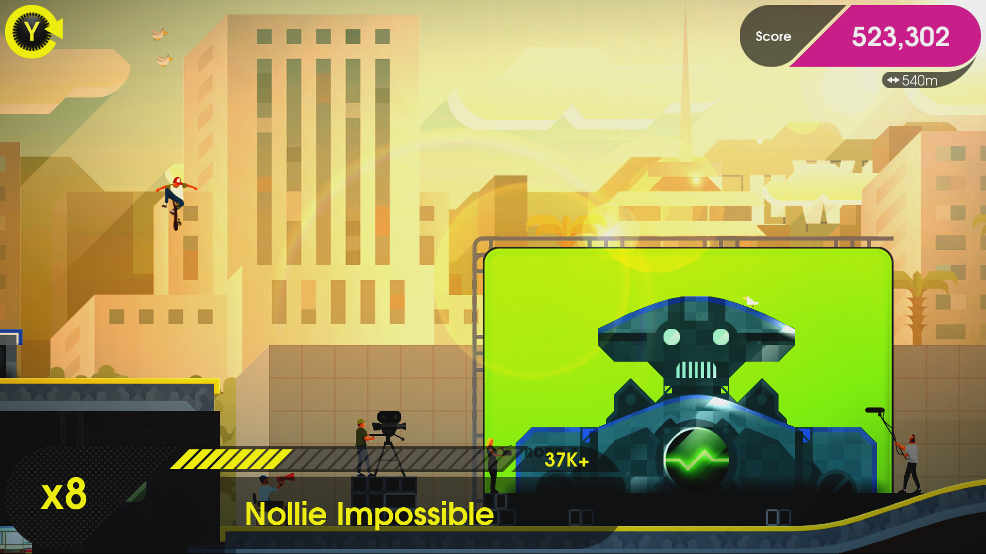 OlliOlli2 XL Edition Review Screenshot 1