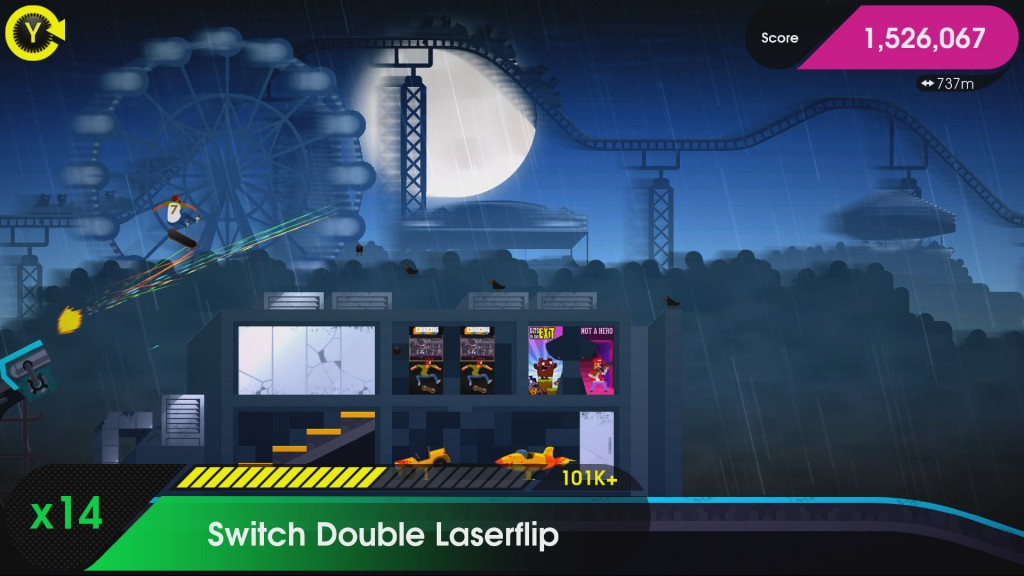 OlliOlli2 XL Edition Review Screenshot 2