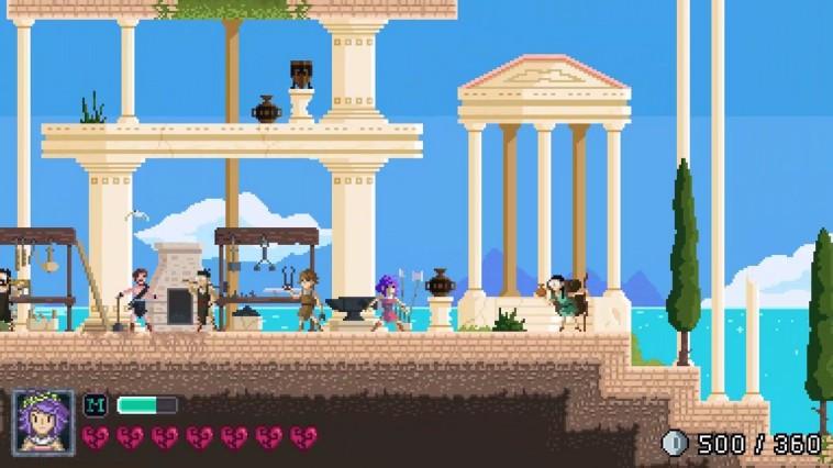 Olympia Rising Review Screenshot 3