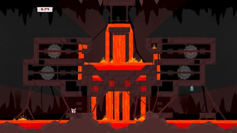 Super Meat Boy Review Screenshot 2